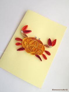 Zodiac Birthday Card Cancer Card Zodiac Greeting Card