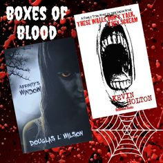 Newest additions to the Boxes of Blood Library Horror Books, Blood, Boxes, Crates, Box, Cases, Boxing