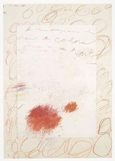 Cy Twombly. {love} just another masterpiece