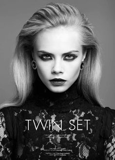 cara delevingne1 Cara Delevingne by Jermaine Francis for Tank Fall 2011
