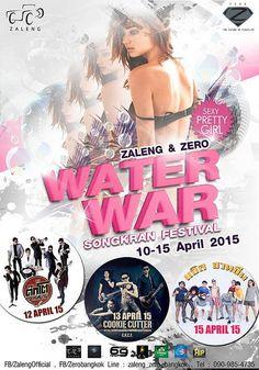 Zero Bangkok Presents Water War