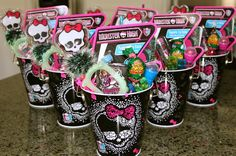 Monster High Birthday Party Ideas | Photo 23 of 32 | Catch My Party @Diana Schiemann this would have been perfect for Sophia