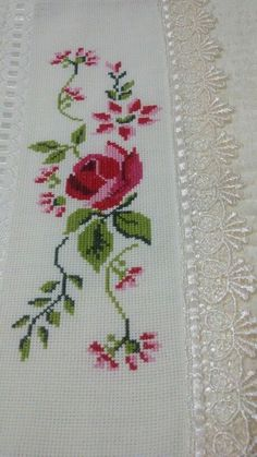 The most beautiful cross-stitch pattern - Knitting, Crochet Love Cross Stitch Letters, Just Cross Stitch, Beaded Cross Stitch, Cross Stitch Borders, Cross Stitch Samplers, Modern Cross Stitch, Cross Stitch Flowers, Cross Stitch Charts, Cross Stitch Designs