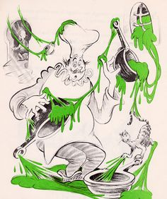 Bartholomew and the Oobleck - written & illustrated by Dr. Seuss (Random House,1949).