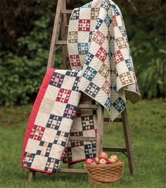 Adore antique quilts? Bring vintage quilts back to life with the new book Remembering the Past, which will help you create gorgeous replicas of authentic antique quilts. Which will you stitch first?