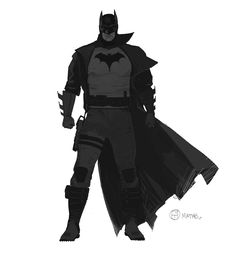 Batman designs for TT's Batman season Brian Matyas Batman Artwork, Batman Comic Art, Im Batman, Batman Robin, Game Character Design, Comic Character, Character Sheet, Batman Redesign, Arte Dc Comics