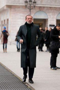 Stylish gentleman:  Photos: Best-Dressed Street Style at Paris Fall Fashion Week 2013 | Vanity Fair