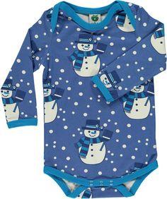 Smafolk Snowman Baby Body Vest