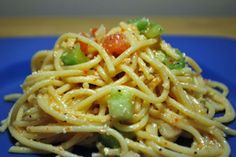 Spaghetti Salad - it used to be a regular at all the Church pot lucks!