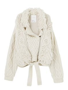 CABLE BIRD BOA RIDERS CARDIGAN, ELENDEEK
