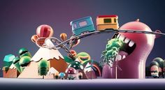 CartoonNetwork Animation Project by Can Inceler, via Behance