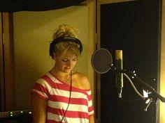 Rydel in the studio.