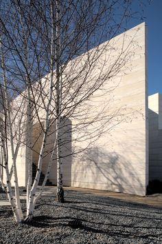 modern architecture - a-cero - la finca I - somosaguas - madrid - spain - exterior view