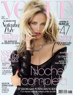Natasha Poly by Patrick Demarchelier Vogue España July 2010