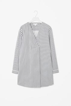 COS | Long oversize stripe top