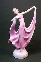 , Deco Dancers, Deco Porcelain, Dance Lady, Flower Holders, Figurines ...
