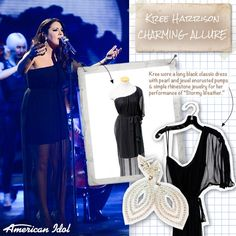 Check out Kree Harrison's first outfit from 5/1/13.