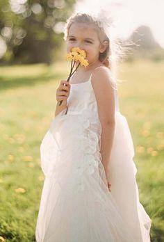Flower Girl Dress...very flowy :) David's Bridal