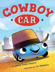 A little car with a big dream…  Ever since Little Car was knee-high to his daddy's hubcaps, he's wanted to be a cowboy. Cowboys get to drive the range, wear big hats, and sleep under the stars. Everyone tells Little Car that cars can't be cowboys, but he can't stop dreaming of rounding up lil' dogies by day and talking around the campfire at night. So Little Car packs his trunk and heads Out West. Vroom! Can he prove he has what it takes to be a true cowboy? Join Little Car as he zooms into…