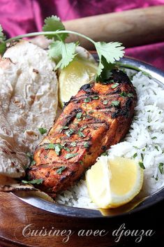 Poulet barbecue marinade à l'indienne - #barbecue #indienne #lindienne #marinade #poulet Barbecue Chicken, Tandoori Chicken, Bbq, Barbacoa, Food Inspiration, Steak, Spices, Ethnic Recipes, Indian