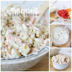 This quick and easy macaroni salad recipe is the best! Do you dare ask for a classic dish like macaroni salad when you're at a restaurant or are you a purist who says their own pasta salad is the best? I love trying different versions but definitely I count certain add-ins as my favorites. Check out my current favorite recipe and meet me on the other side: You can print this recipe for elbow macaroni salad at the end of this post The thing about a macaroni salad recipe is it's quick and easy…