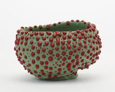 Takuro Kawata Bowl, 2014 porcelain 11 x 16,5 x 13 cm  courtesy Pierre Marie Giraud Gallery