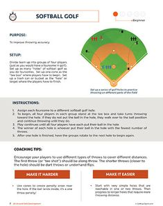 Instant Softball Practice – All Around Skills – BG — Softball Spot Softball Workouts, Softball Gear, Softball Drills, Softball Coach, Softball Players, Softball Bats, Softball Things, Softball Stuff, Baseball