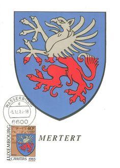 Wappen aus Luxemburg - Mertert