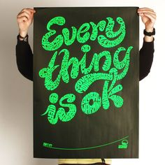 Everything is ok - Isn't it? by PEACHBEACH , via Behance
