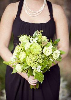 #green #wedding #bouquet