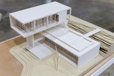 Maquette Architecture, Architecture Model Making, Architecture Concept Drawings, Pavilion Architecture, Modern Architecture House, Architecture Plan, Interior Architecture, Casa Patio, Villa
