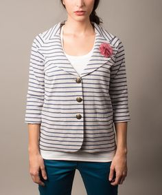 Blue Monet Blazer | Daily deals for moms, babies and kids