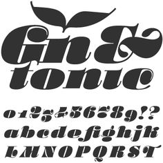 psychedelic didone font - Google Search