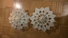 Kisfeleség: Egyszerű karácsonyi csillag-dekoráció osztályba, ó...