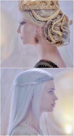 Evil Queen and Ice Queen #huntsman The Huntsman Winter's War
