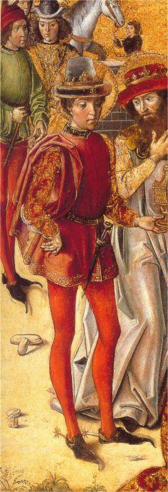 - OPUS INCERTUM -: LAS CALZAS (II) en el hombre de la Baja Edad Media
