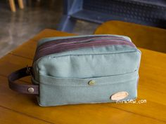 808 Nathan Traveler Pouch PDF Pattern 50% Off!