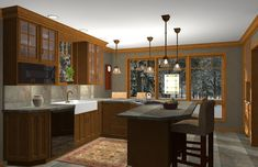 craftsman+interiors | Craftsman Interiors Kitchen | afreakatheart