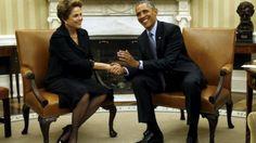 Em cinco manchetes: veja como imprensa americana cobriu visita de Dilma - BBC Brasil