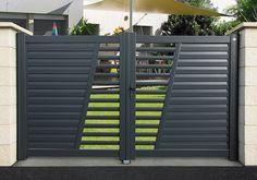 Modern Front Gate Design, Iron Main Gate Design, Home Gate Design, Grill Gate Design, Gate Designs Modern, House Main Gates Design, Fence Gate Design, Steel Gate Design, Main Door Design