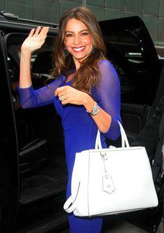 Sofia Vergara and her36 MM Rolex Datejust