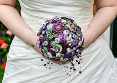 I Heart Buttons Bouquets