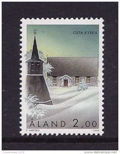 MINT STAMPS - GETA CHURCH - 1995 - ALAND ** / MNH -- - Delcampe.net