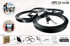 Parrot Bebop 1 original Kamera Drohne Ersatzteil Spare Part Camera Drone Fisheye