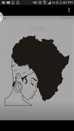 African Queen Black Girl Art, Black Women Art, Black Art, Art Girl, Tattoo Femeninos, Tattoo Drawings, Body Art Tattoos, Art Drawings, Tatoos