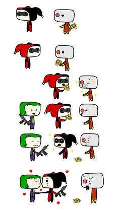 Harley Quinn and Deadshot, maybe It can happen but, I have to say, Joker is my love ♥