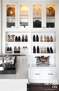 pretty shoe storage