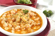White Kidney Beans, White Beans, Onion Leeks, Fried Tomatoes, Cuttlefish, Garlic Salt, Stuffed Green Peppers, Vegetable Dishes, Chana Masala