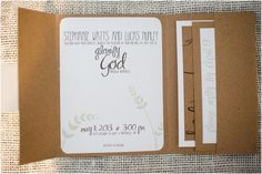 make your own vintage rustic wedding invitations
