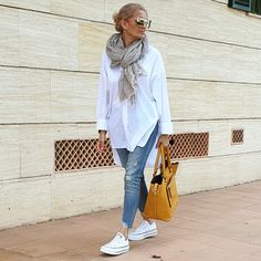 Mode Outfits, Stylish Outfits, Fashion Outfits, Womens Fashion, Looks Style, Casual Looks, Look Retro, Look Fashion, Casual Chic